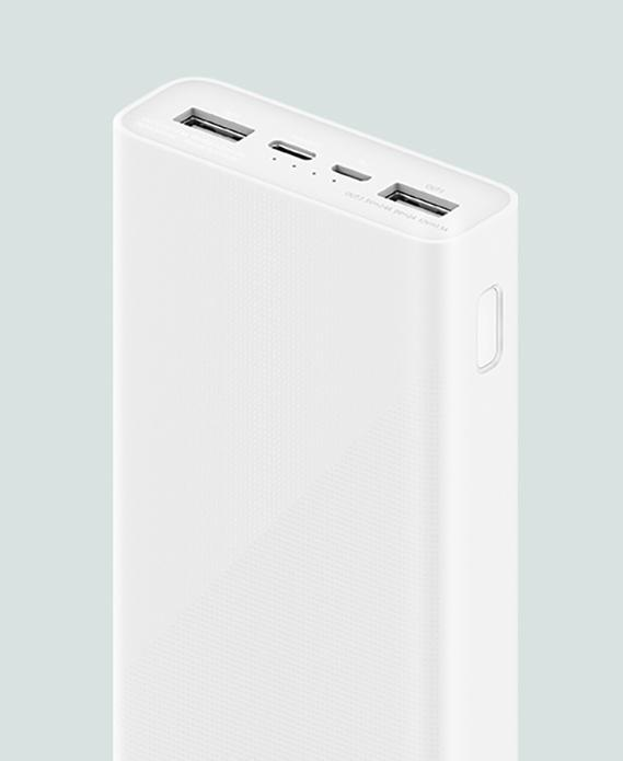 Дизайн Xiaomi Power Bank 3S 20000 mAh
