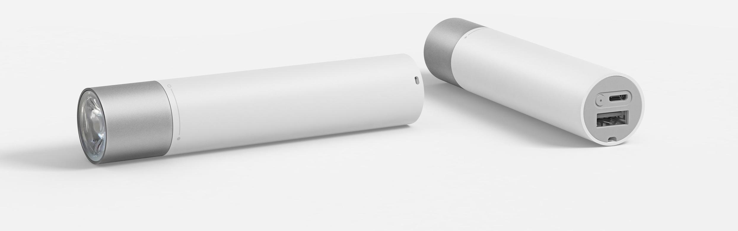 Фонарик Xiaomi Power Bank Flashlight